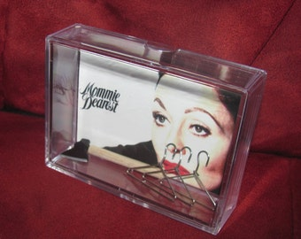 Mommie Dearest Collectible Display...No More Hangers!!!!!!!!! with Axe...cool one here...makes great gift 4 that unique Person..(we combine)