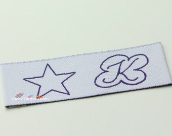 350 free express shipping, graphic design labels, kids labels, labels for kids, embossed labels, labels online, baby labels, t shirt labels.