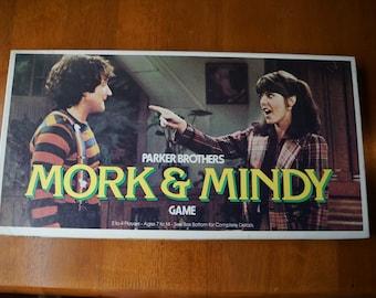 Vintage 1979 Parker Brothers Mork & Mindy Board Game