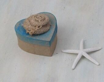 custom heart gift box, wedding custom favor box, wedding bridesmaid gift box, engagement gift box, beach wedding box
