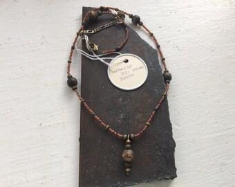 Nepalese DZ1 Stone Necklace