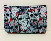 Zombie Head Makeup Bag