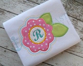 BLOOM machine embroidery design