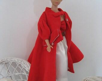 Vintage Barbie Red Flare # 939 (1962-1965) Complete