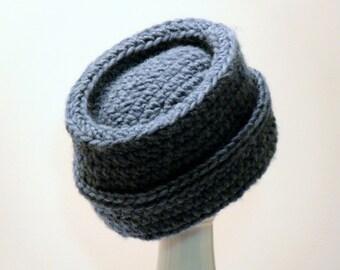 Easy Crochet Pattern - Mens Hat - Cossack - Winter - Chunky Size Newborn, Baby, Toddler, Boys, Teen, Mens, Mens L, XL Meadowvale Studio #112
