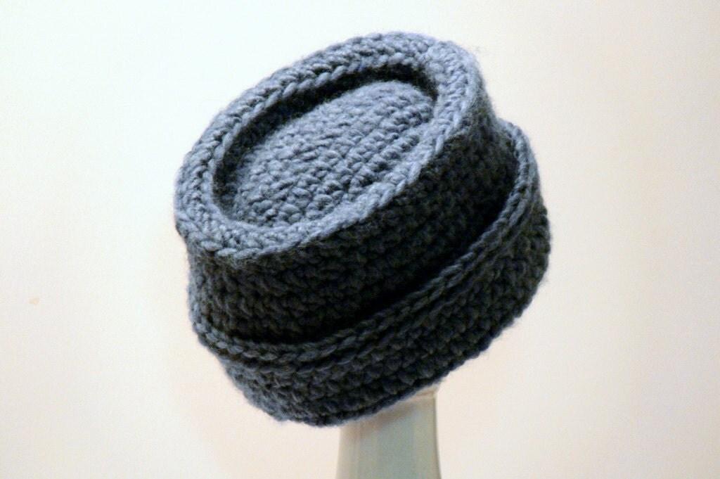 Mens Hat Crochet Pattern Chunky Yarn : Easy Crochet Pattern Mens Hat Cossack Winter Chunky