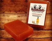 Cinnamon Whiskey Scented Soap 3 oz. Bar