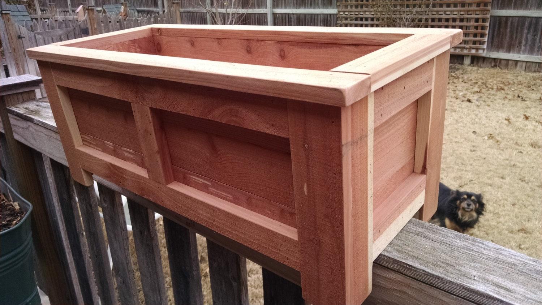 Deck Rail Planter Boxes Trend pixelmari