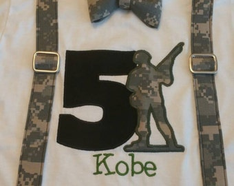 Army men Birthday shirt