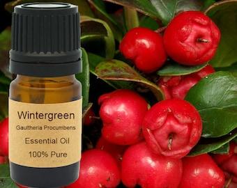 Wintergreen Essential Oil  5 ml, 10 ml or 15 ml