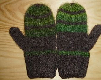 Wool Felted Mittens