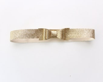 Glitter Bow Belt for Babies and Toddlers