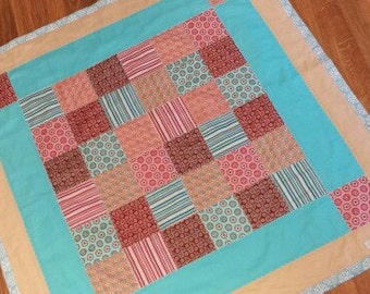 Small Patchwork Blanket