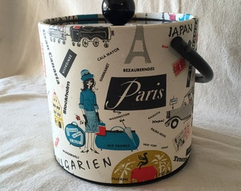 Vintage ice bucket from Jack Frost Ice Buckets