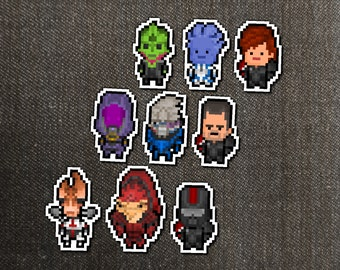 Space Action Hero Squad Sticker Packs - Free US Shipping