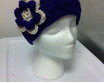 Purple Headband Ear Warmer