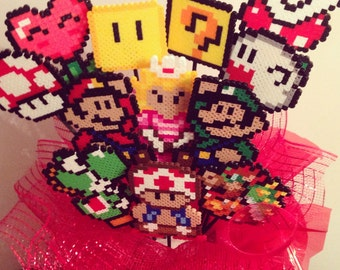 Super Mario Valentine's Day Bouquet!