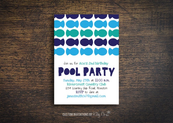 Fish Pool Party | Kids Birthday