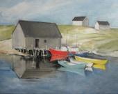 "Original oil painting - Nova Scotia #2 - 9"" x 12"""