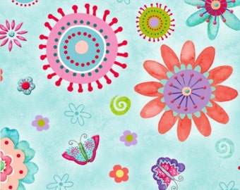 Stripes, Florals, and Dots Cotton Fabric by Henry Glass & Co! [Choose Your Cut Size]