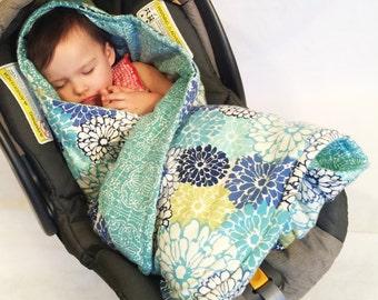 car seat swaddling blanket