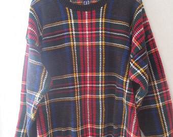 """An Ulgy  """"Cosby"""" Sweater with multiple colors in a dynamic design #C3"""