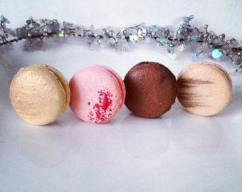 12 French Macarons - assorted flavors