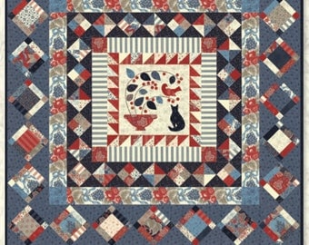 Montmorency Medallion Quilt Pattern by Minick and Simpson