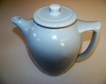Westport Table Capilano Blue Coffee Pot