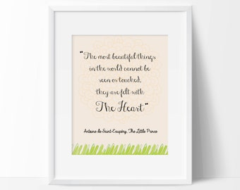 The Most Beautiful Things | The Little Prince Digital Print