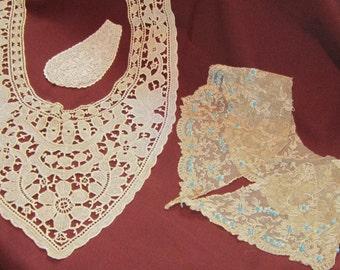Vintage Lace Collar Ensemble