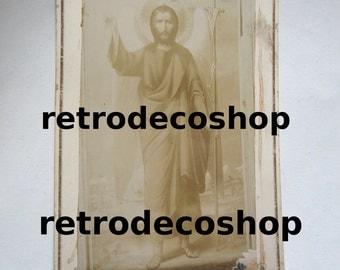 1800's Saint John the Baptist icon, original photo