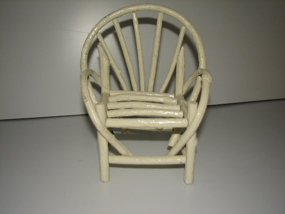 Items Similar To Miniature Bent Willow Chair On Etsy