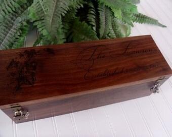 Wine Box, Wedding Wine Box, Wedding Gift, Anniversary Gift, Memory Box, Wine Box Ceremony, Love Letter Box