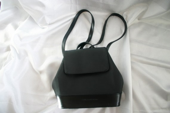 Hilfiger 90s BLACK Mini Backpack Purse / 90's bag