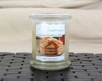 AM Hotcakes -Scented Soy Candles, Pancake Scented Candles, Food Scented Candles, Soy Coconut wax, Candle Gifts