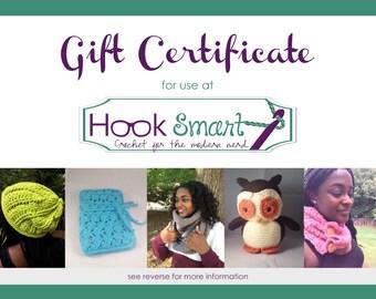 Gift Certificate 25-75 Dollar Value