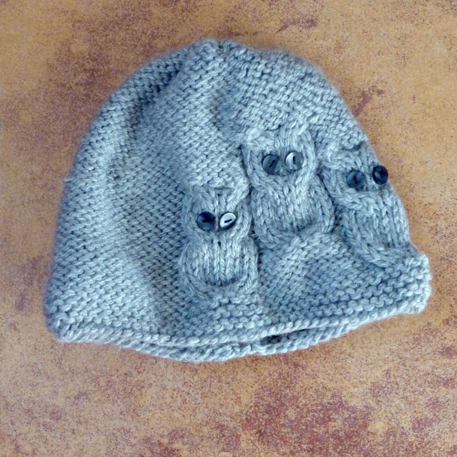 Knitting Cowl With Circular Needles : Two awesome knitting patterns owls hat and cowl for