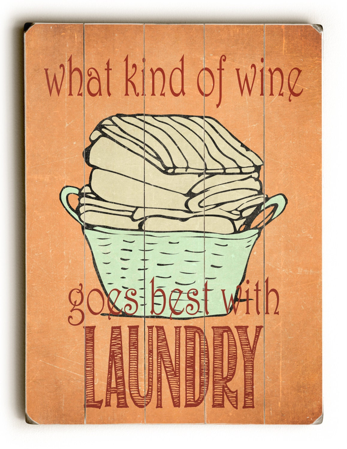 Wooden Sign Laundry Room Decor Inspirational Sign Vintage
