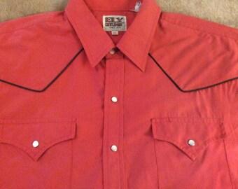 Ely Cattleman Western Shirt (XL)