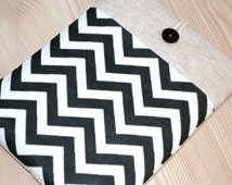"""kindle paperwhite Case, kindle fire case, nook glowlight Sleeve, gadget cases , kindle fire sleeve Custom Fit for Any 6""""-8"""" Tablet- Chevron"""