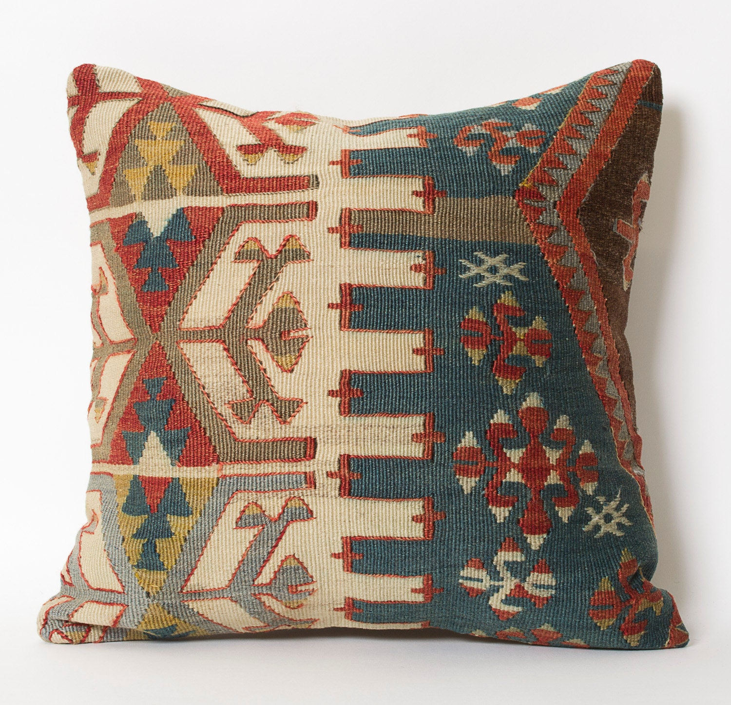 Decorative Pillows Kilim : Kilim Throw Pillowcase Bohemian Handwoven Pillow Decorative