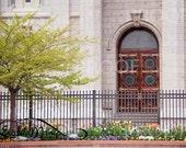 LDS Salt Lake City Temple Door {Professional Print}
