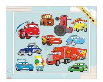Disney Cars Children's Removable Wall Decal