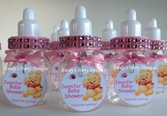 biberones recuerdos para baby shower para ni a por designsbyemilys