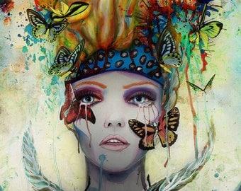 Metamorphose- signed Art Print