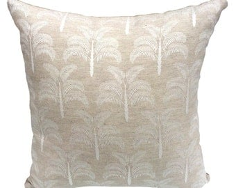 embossed palm cushion