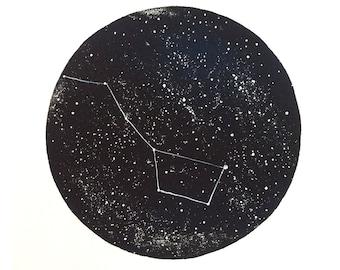 Ursa Major Constellation Print