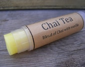 CUSTOM LISTING for EDNA 15 Chai Tea Natural Lip Balm