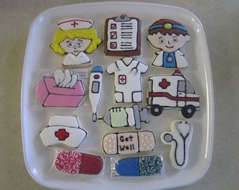 Cute Nurse Doctor Cookies
